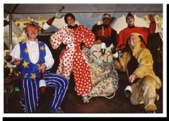 Orgue musique clowns déambulation