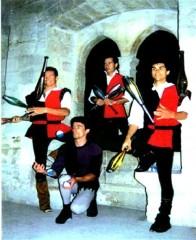Jongleur médiéval palais des papes