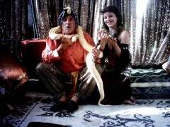 Fakir serpents thème oriental