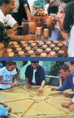 Jeux anciens en bois