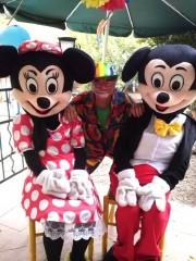 Mickey et Minnie chez vous