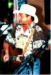 Country musicien solo Texas
