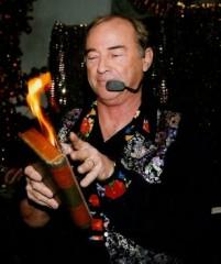 Magicien du feu spectacle pour tout public